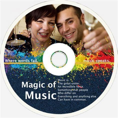Disk Cover Templates & Samples   CD Cover Maker   Picture