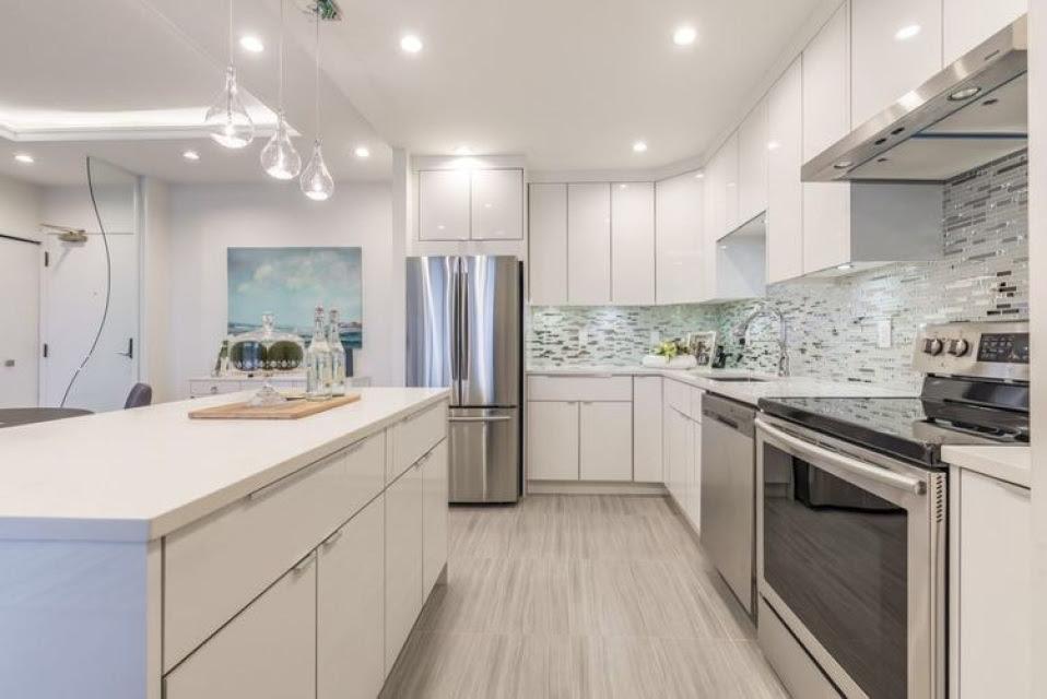 RTA Flat Panel Kitchen Cabinets