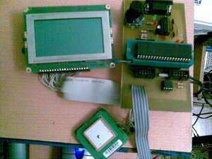 Ứng dụng LCD đồ họa PIC18F452 GPS