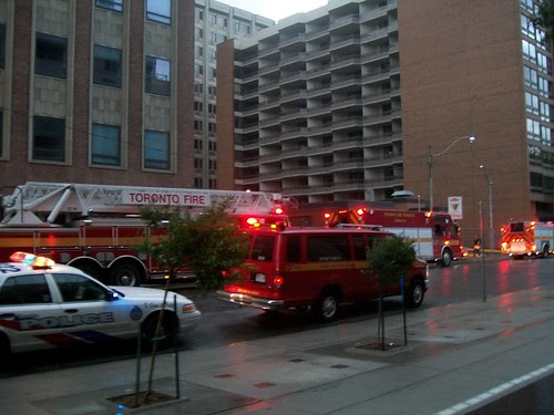 Fire at St. George Station by fw_gadget