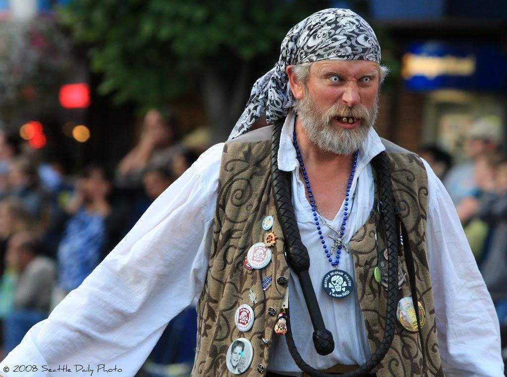 Seafair Pirates Terrorize Greenwood Parade