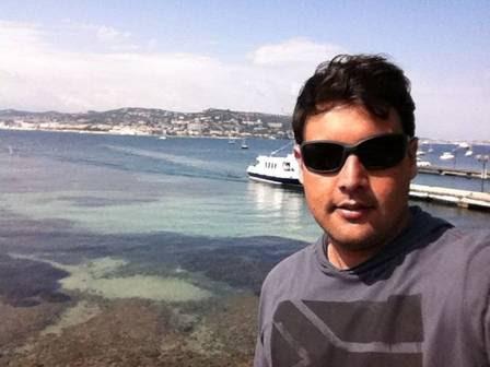 Na Ilha de St. Marguerite, na Riviera Francesa