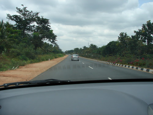 En Route to Mysore on the Bangalore - Mysore National Highway