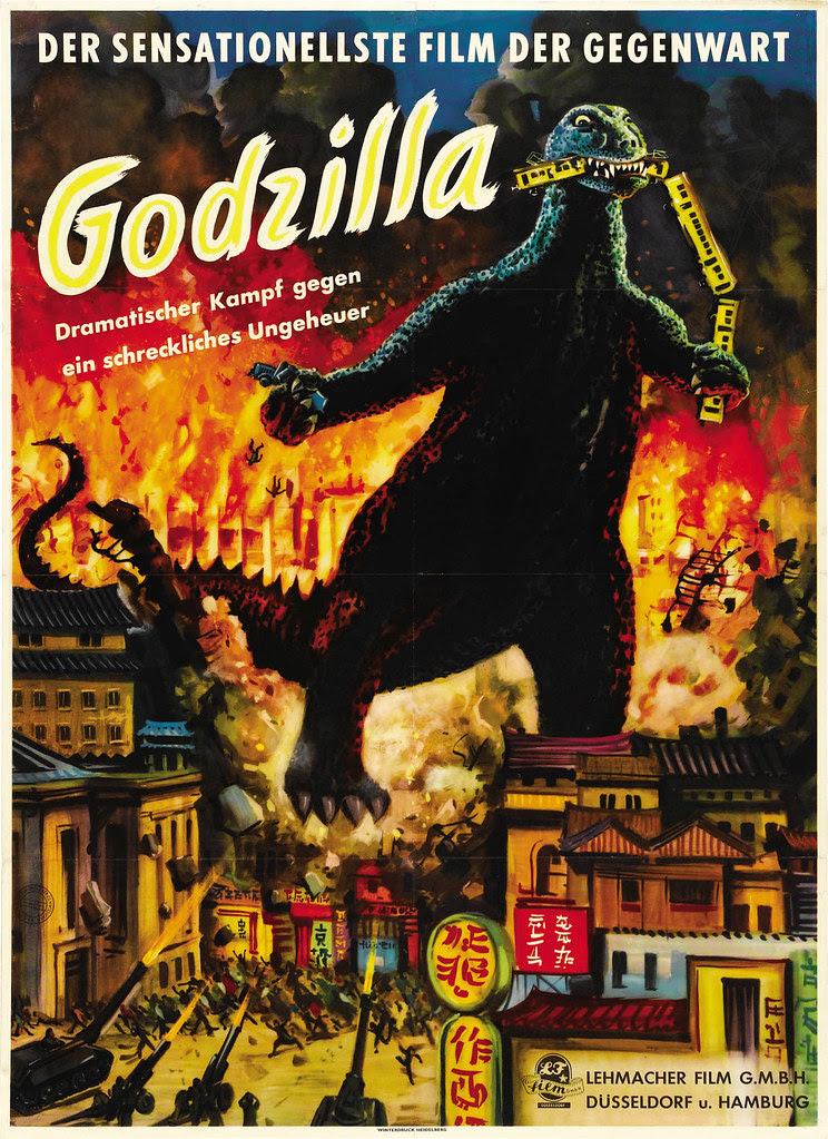Godzilla (Toho, 1954). German