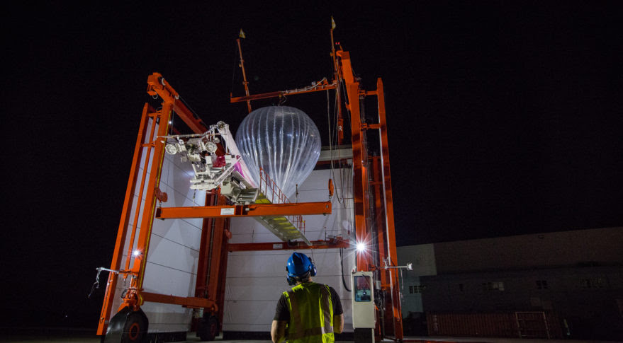 Google deployed its Project  Loon high-altitude balloons to Puerto Rico to provide LTE service to the storm-ravaged island. Credit: Google Project Loon