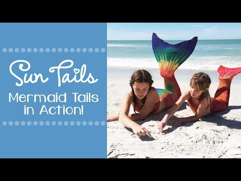 Swim Like a Mermaid with Sun Tail Mermaid #HolidayGiftGuide2017