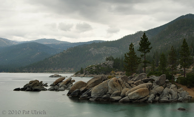 Rainy day, Lake Tahoe