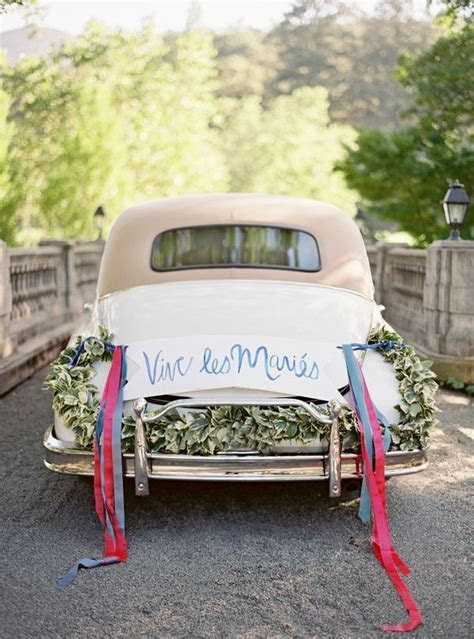 Getaway wedding cars,wedding getaway car decorations