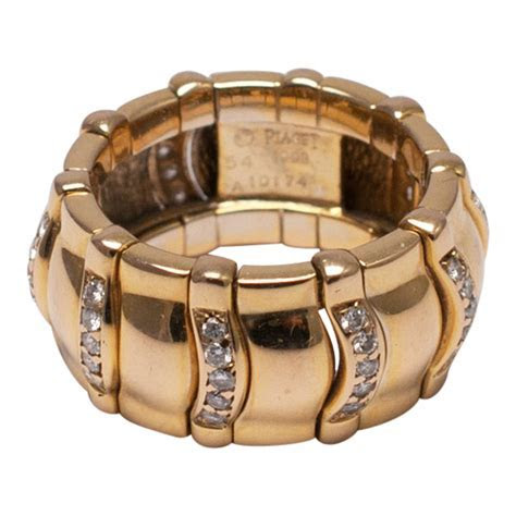 Piaget Diamond and Gold Band Ring   Plaza Jewellery
