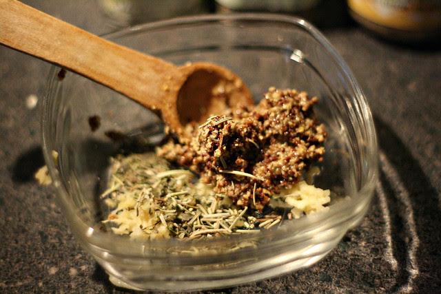 mustard compote