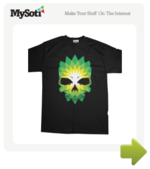 Death from Oil tee by RossRobinson. Available from MySoti.com.