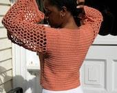 Sabrina Crochet Crop Top Pattern - Intermediate - PDF Download