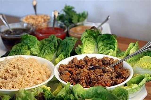 Simply Scrumptious Asian Lettuce Wraps