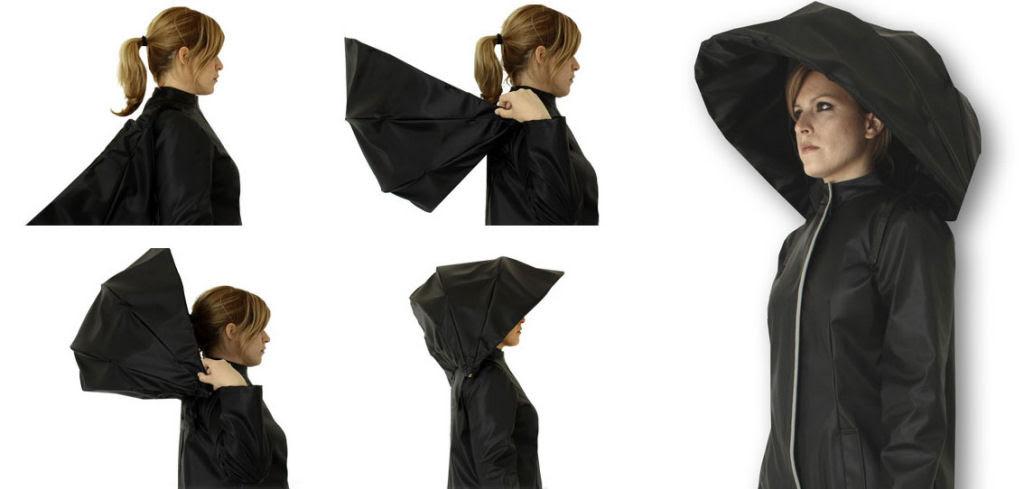 Esta capa-guarda-chuva chinesa é a mais recente inovação para se manter enxuto 08