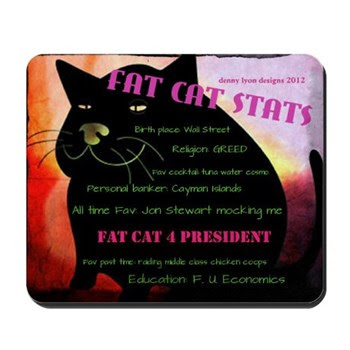 Fat Cat Stats Mousepad