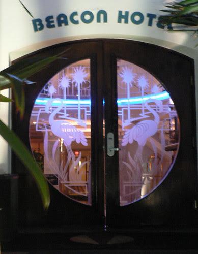 Door, Beacon Hotel, Miami