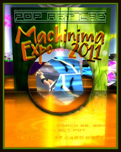 Pop Art Lab Machinima Expo 2011