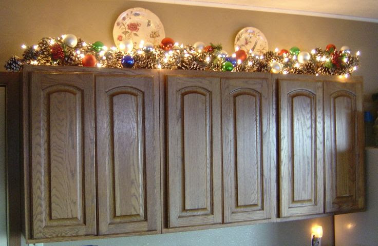 Decorating Tips For Above Kitchen Cabinets - Inspirational Kitchen