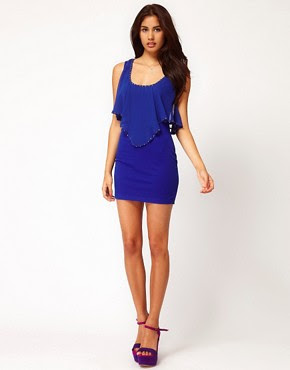 Image 4 ofClub L Bodycon Dress With Studding