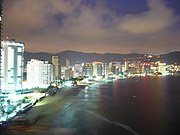 A view of the Acapulco coastal region.