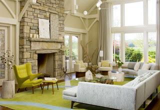 Beach House Bridgehampton modern living room