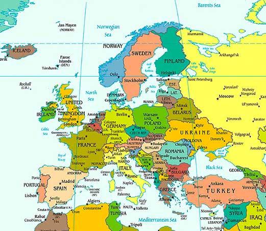 Viimane asukoht: Eesti, Euroopa