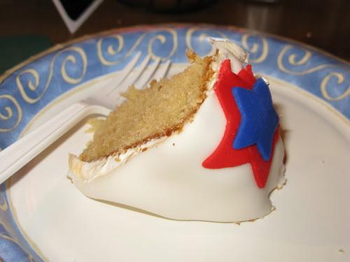 Josh's PB cake, by Jenny