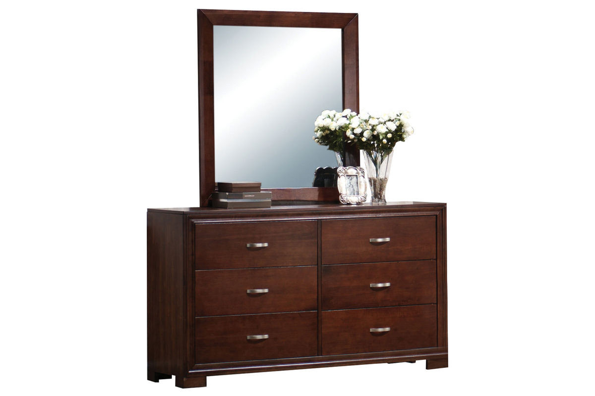 Raven Dresser + Mirror at Gardner-White
