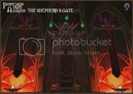 Postcards of Azeroth: The Shepherd's Gate, by Rioriel Ail'thera
