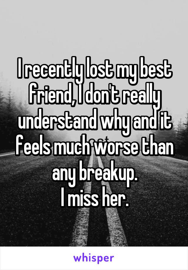 The Sad Reality Of What Losing A Best Friend Feels Like