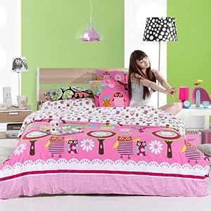 Amazon.com - DIAIDI Home Textile, Owl Bedding, Cute Owl Bedding ...