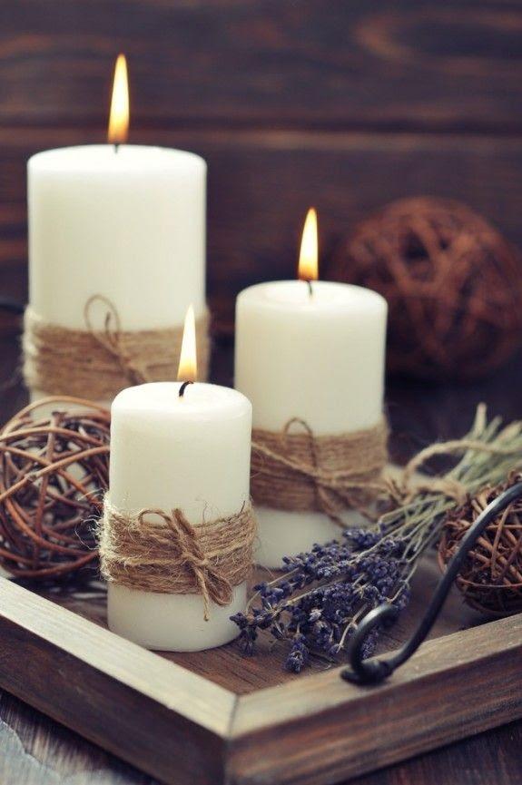 Kerzen deko ideen