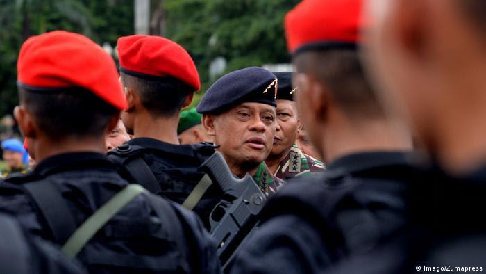 Indonesien Generalstabchef Gatot Nurmantyo (Imago/Zumapress)