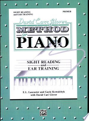 Download David Carr Glover Method for Piano: Sight Reading and Ear