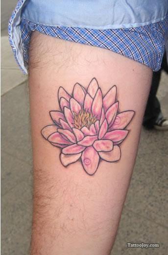 Small Pink Lotus Flower Tattoo Tattoomagz