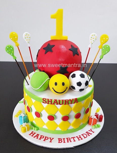Order Customized Cake For 1st Birthday In Pune Sweet Mantra