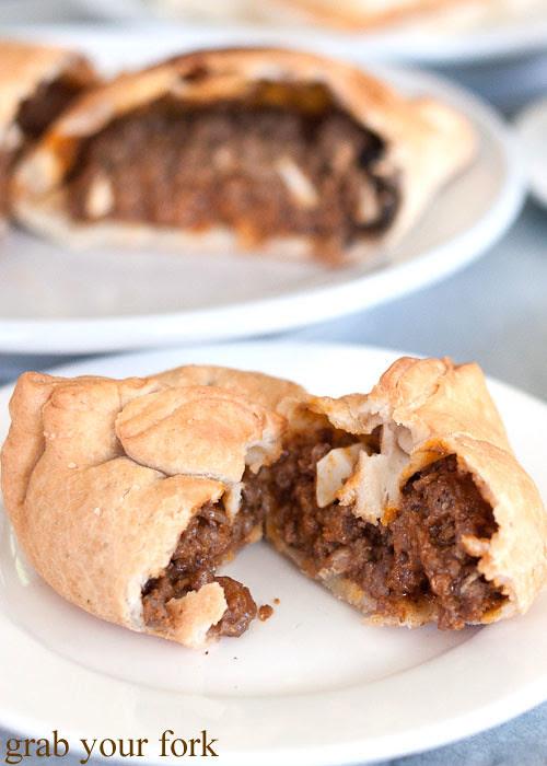 meat empanada at sugarloaf patisserie kogarah