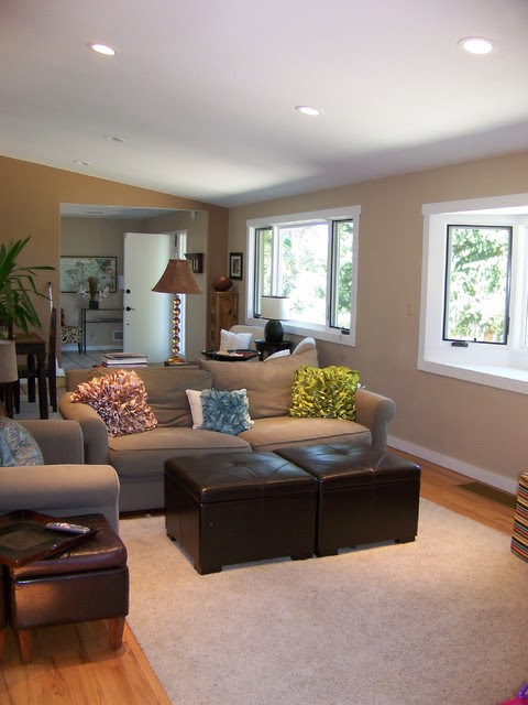Small Sitting Area For Family Contemporary Family Room Denver
