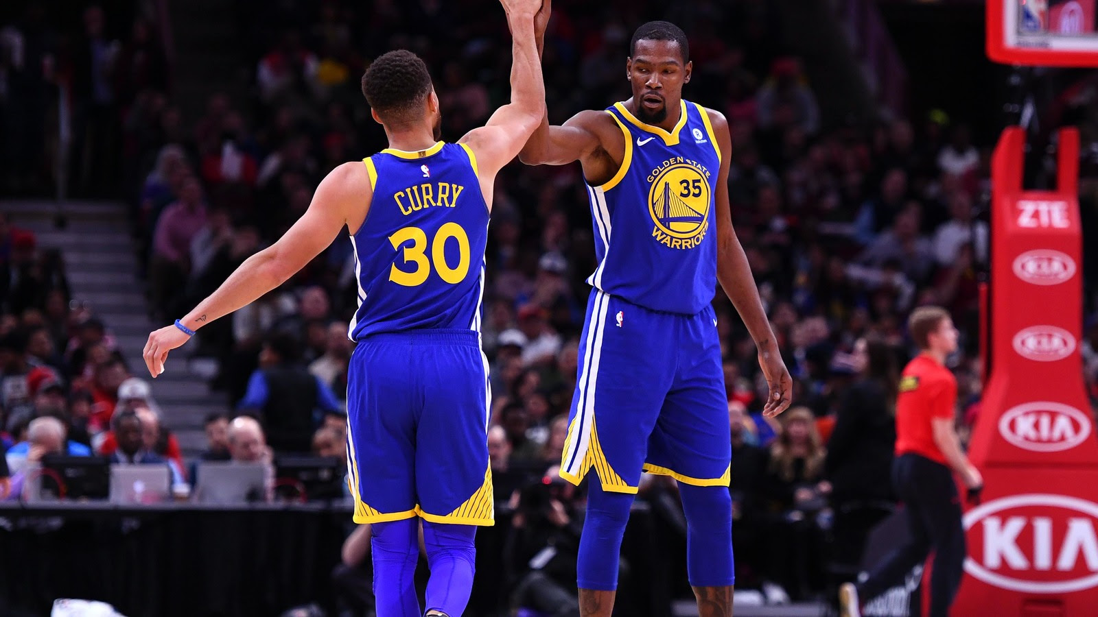 Kevin Durant Issues All Star Game Warning To Steph Curry Yardbarker