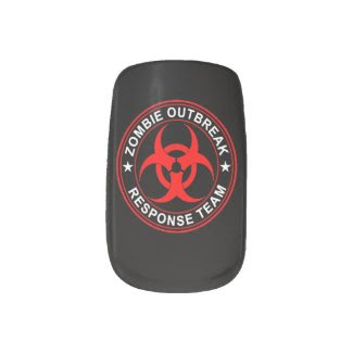 Zombie Outbreak Response Team Walking Minx Nails Minx ® Nail Wraps