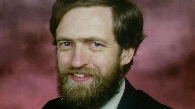 Jeremy Corbyn with beard