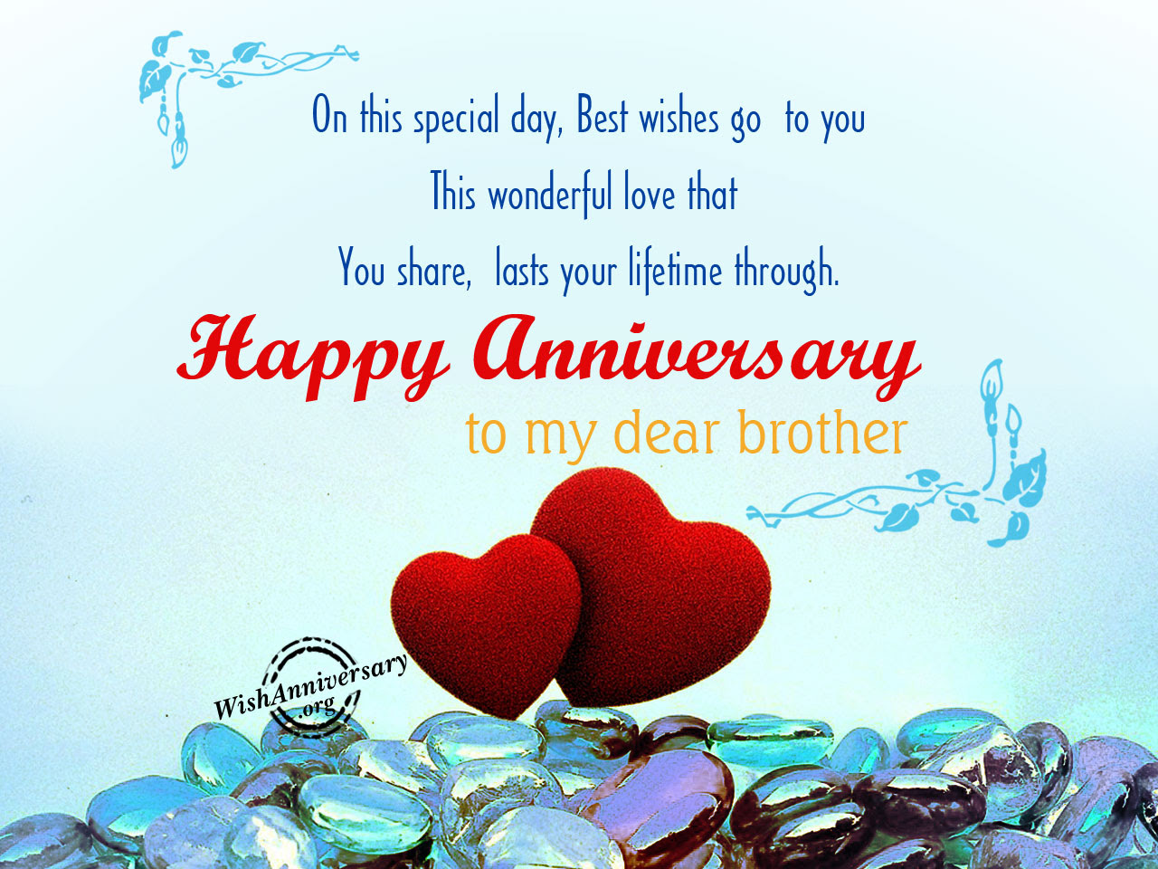 Anniversary Wishes For Brother Pictures Images Page 2