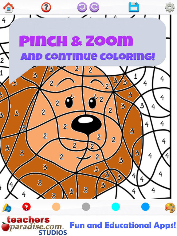 App Shopper: Color By Number Coloring Games (Education)