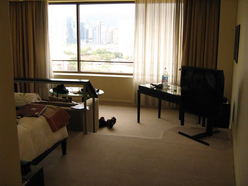 My hotel room in Grand Hyatt Santiago 2