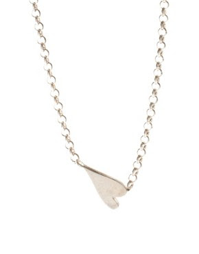 Image 1 of Dogeared Sterling Silver Whispers Heart Necklace