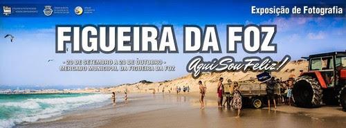 Exposição coletiva de Fotografia «Figueira da Foz, aqui sou feliz» - Banner