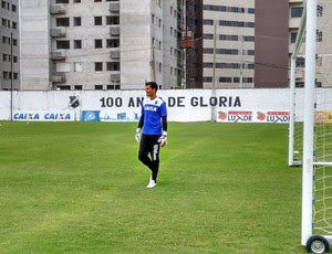 Gilvan, goleiro do ABC (Foto: Andrei Torres/Divulgação)