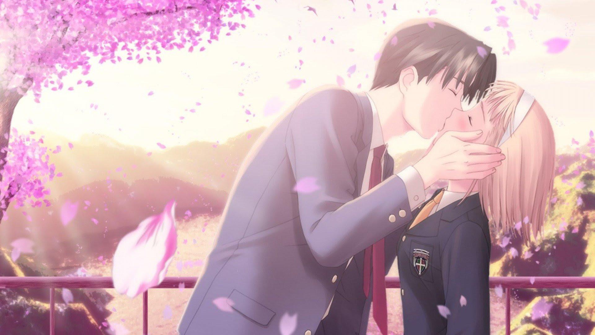HD Cute Anime Couple Backgrounds | PixelsTalk.Net