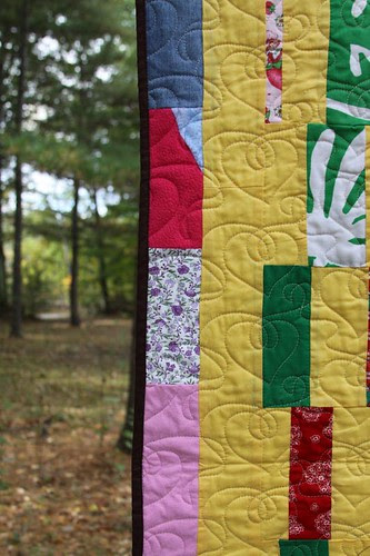 mamaka mills recycled custom quilt made from clothing 6