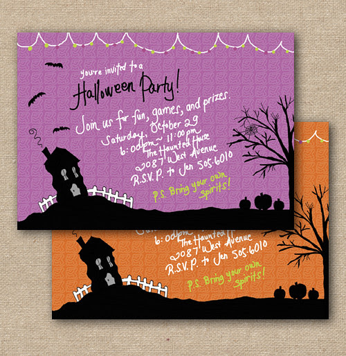 Blog_HauntedHouseInvitation_DIY, Halloween Party Theme Invitation, Happy Halloween Birthday Invitations, Fun Halloween Theme Invites, Announcement Card, Personalized Party Invitation, Birthday Invitation Designs, Fabulous Invitation Designs, DIY Party Design Invitations, Personalized Invitations, Sweet 16 Birthday Party Invitations